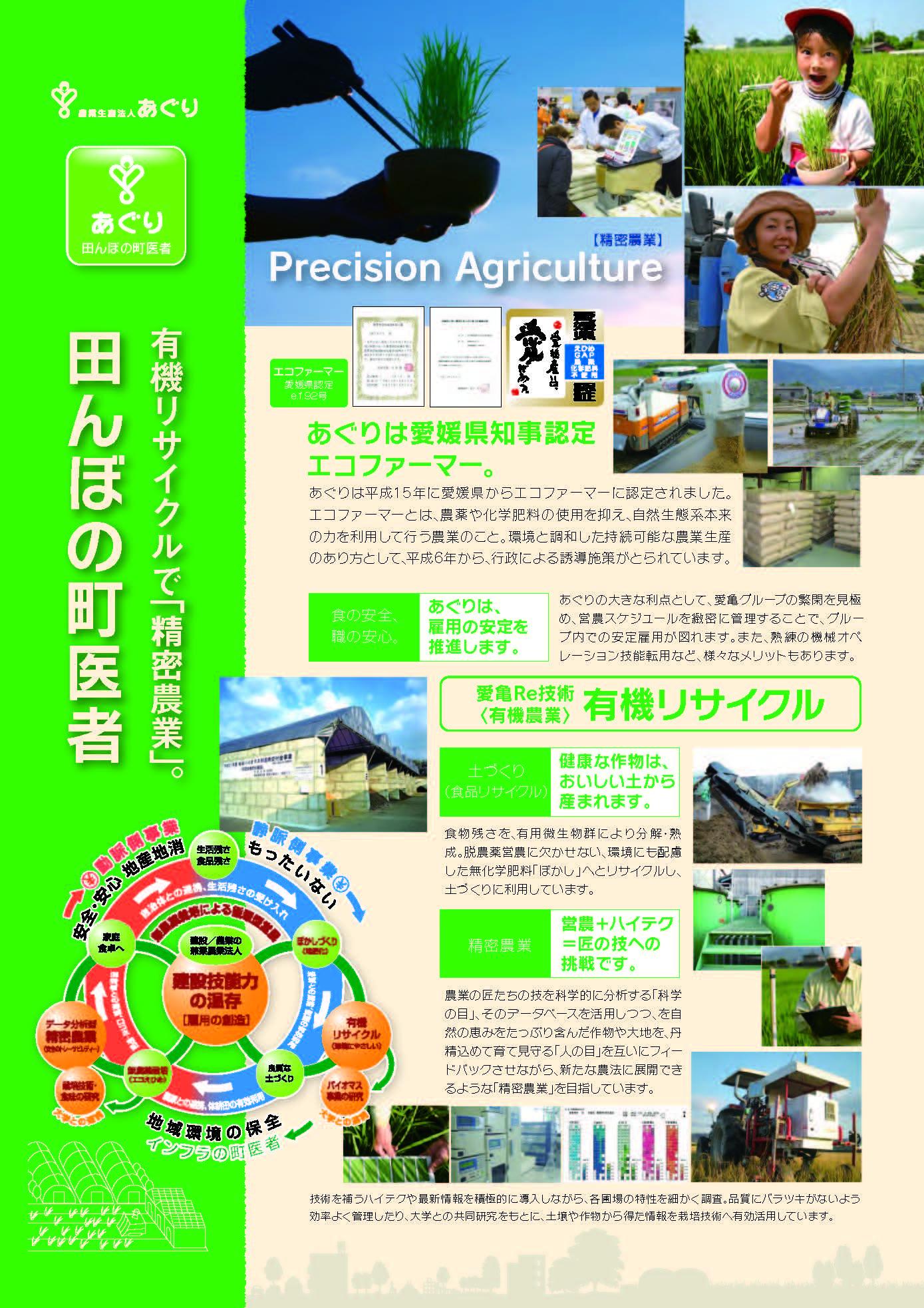 有機リサイクルで「精密農業」。田んぼの町医者